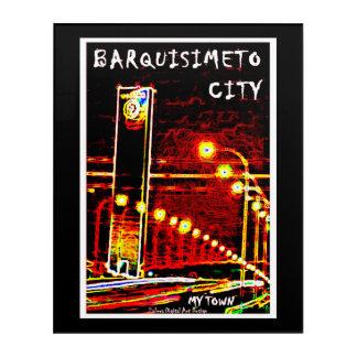 Impresión Acrílica Barquisimeto City - My Town