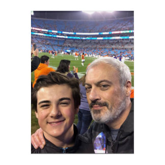 Impresión Acrílica Billy and Chase at Clemson Game December 2017