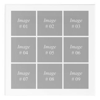 Impresión Acrílica Cree su propia colección de la foto de Instagram