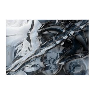 Impresión Acrílica Crome azul