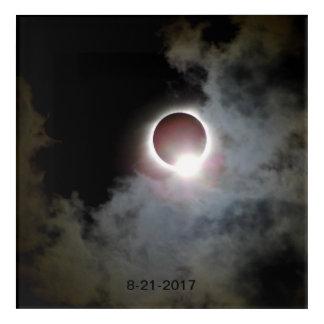 Impresión Acrílica Eclipse solar 21 de agosto de 2017