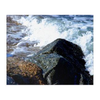 Impresión Acrílica El mar lavó II