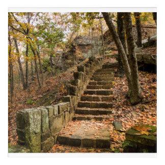 Impresión Acrílica Escalera de piedra - Heavener, AUTORIZACIÓN