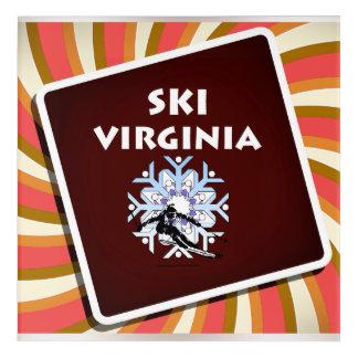 Impresión Acrílica Esquí SUPERIOR Virginia