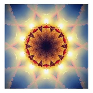 Impresión Acrílica Estrella solar