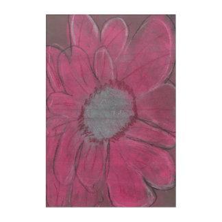 Impresión Acrílica Flor rosada AJ
