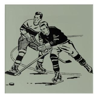 Impresión Acrílica Hockey sobre hielo