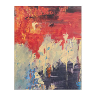 """Impresión Acrílica """"Incendio fuera de control"""" por Sheri Obai"""