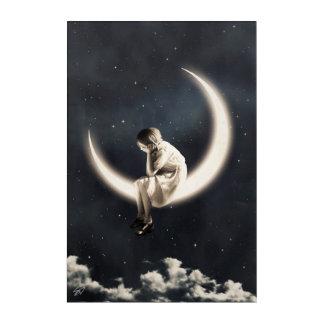 Impresión Acrílica Incluso le di la luna