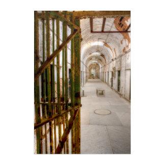 Impresión Acrílica Interior de la prisión abandonada