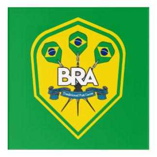 Impresión Acrílica Juegos tradicionales del Pub del Brasil