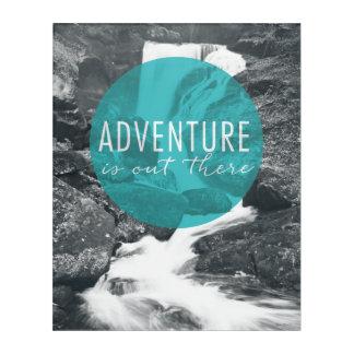 Impresión Acrílica La aventura de los ríos el   está hacia fuera allí
