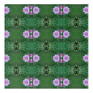 Impresión Acrílica La flor del césped Dapple la cosecha un fractal