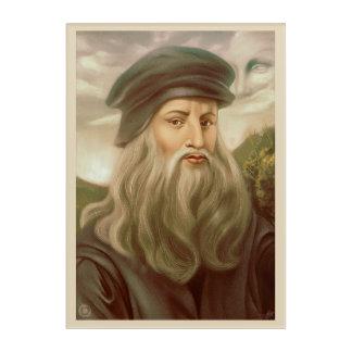 Impresión Acrílica Leonardo da Vinci