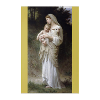 Impresión Acrílica L'Innocence William-Adolphe Bouguereau 1893