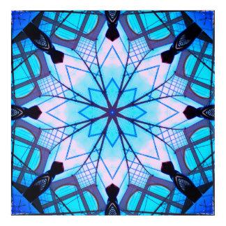 Impresión Acrílica Mandala del copo de nieve