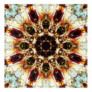 Impresión Acrílica Mandala ideal de la flor