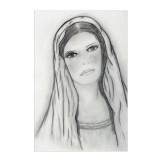 Impresión Acrílica Maria triste