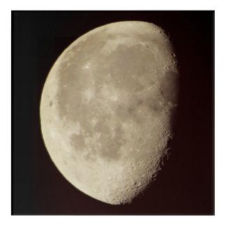 Impresión Acrílica Media luna brillante
