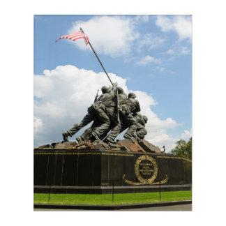 Impresión Acrílica Monumento de Iwo Jima en Washington DC