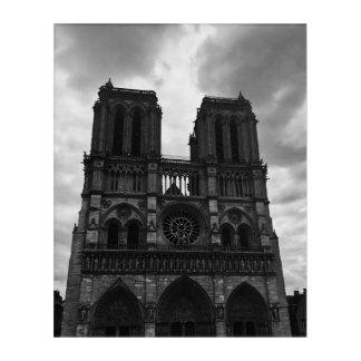 Impresión Acrílica Notre Dame