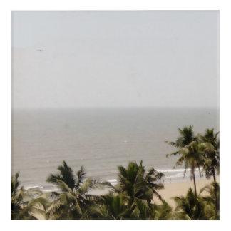 Impresión Acrílica Paisaje de la playa