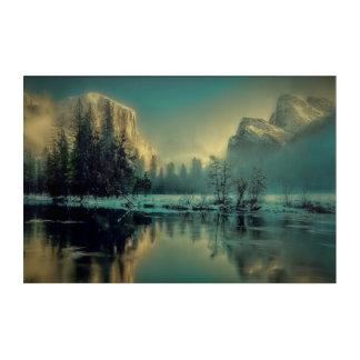 Impresión Acrílica Paisaje del parque nacional de Yosemite
