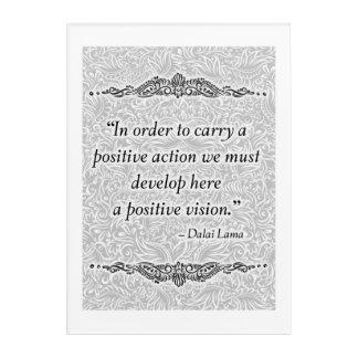 Impresión Acrílica Para llevar un positivo - Quote´s positivo