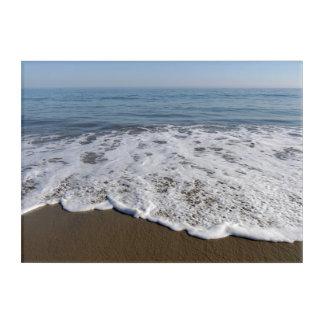 Impresión Acrílica Playa/arena/ondas