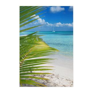 Impresión Acrílica Playa de Domenicana