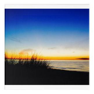 Impresión Acrílica Playa de la Costa del Pacífico
