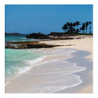Impresión Acrílica Playa tropical