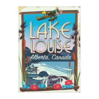 Impresión Acrílica Poster del viaje de Lake Louise, Alberta Canadá