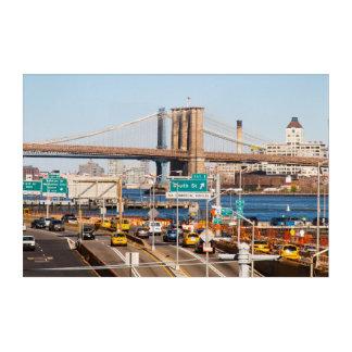Impresión Acrílica Puente de Brooklyn NYC