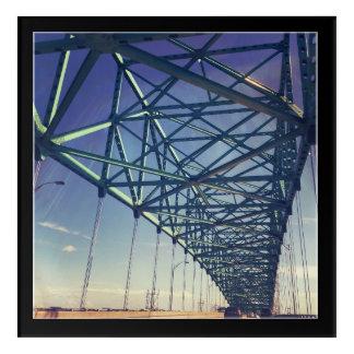 Impresión Acrílica Puente del ciervo, Jacksonville