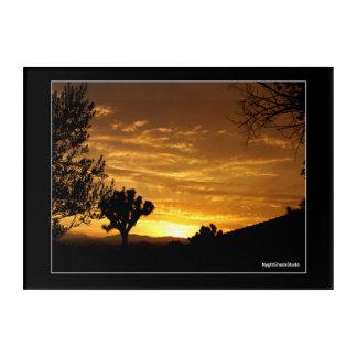 Impresión Acrílica Puesta del sol