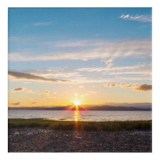 Impresión Acrílica Puesta del sol canadiense