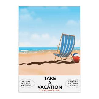 Impresión Acrílica Tarde vacaciones