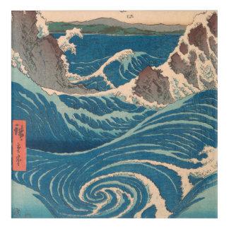 Impresión Acrílica Utagawa Hiroshige Naruto Whirlpool