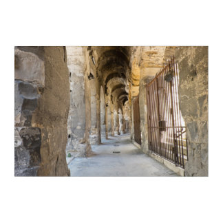 Impresión Acrílica Vestíbulo romano de la arena, Francia