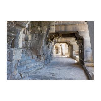 Impresión Acrílica Vestíbulo romano del anfiteatro