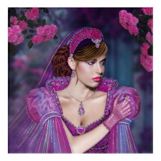 """Impresión Acrílica Victorian Lady Acrylic Wall Art, 12"""" x 12"""""""