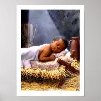 Impresión afroamericana del arte de la pintura de