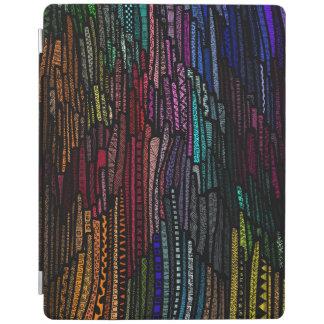 Impresión al azar cubierta de iPad