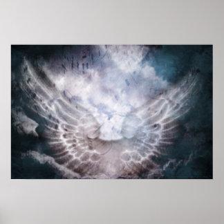 Impresión angelical de las voces