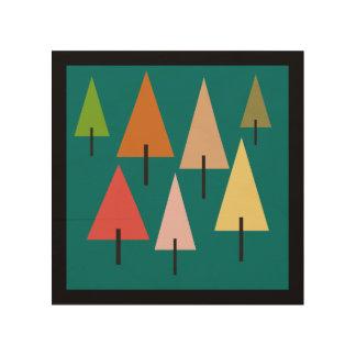 Impresión artística del bosque