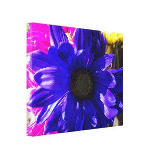Impresión azul de la lona de Feelin Impresiones En Lienzo Estiradas