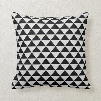 impresin blanco y negro prillow del modelo del cojn decorativo