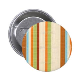 Impresión brillante elegante de la raya de la tela pins