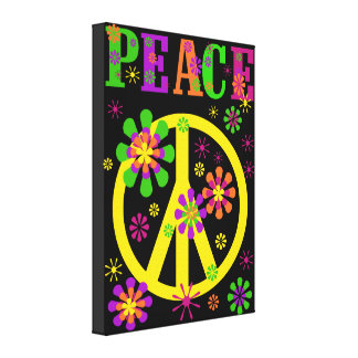 Lienzo Impresión caliente de la lona de la paz de los col